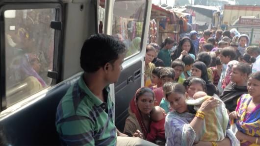 Medikzinische Versorgung in Kalkutta.
