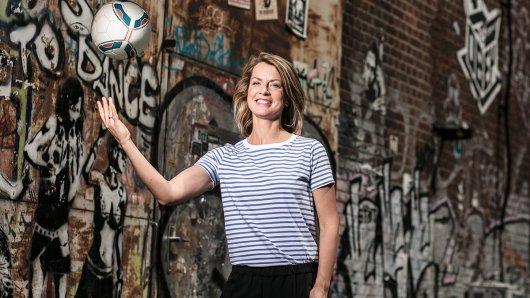 Am 19. August moderiert Jessy Wellmer erstmals die Sportschau am Samstag