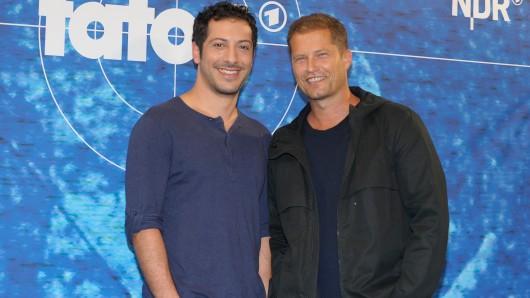 Präsentierten sich 2012 als neues Hamburger Tatort-Team: Fahri Yardim (l.) und Til Schweiger
