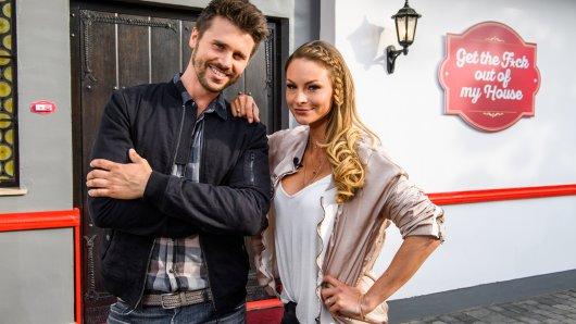 Thore Schölermann und Jana Kilka praesentieren auf ProSieben die neue Show ,Get the F*ck out of my House'.