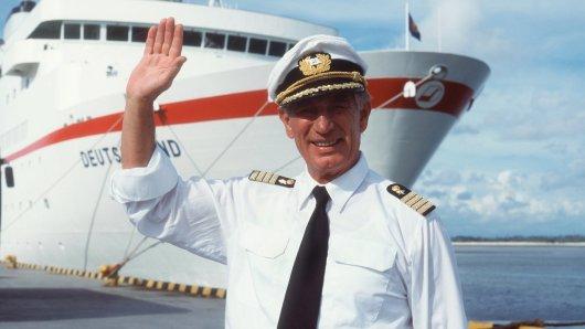 Auf der letzten Fahrt: Traumschiff-Kapitän Siegfried Rauch verstarb am 11. März 2018 im Alter von 85 Jahren.
