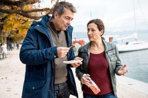 Stefan Gubser und Delia Mayer werden nur noch zweimal gemeinsam als Tatort-Team ermitteln.