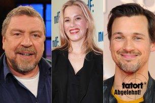 """Diese Schauspieler haben dem """"Tatort"""" einen Korb gegeben. Bitte blättern Sie durch unsere Galerie!"""