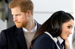 Prinz Harry und die bürgerliche Amerikanerin Meghan Markle.