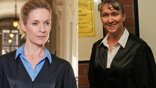 Lisa Martinek als Romy und ihr reales Vorbild Pamela Pabst.