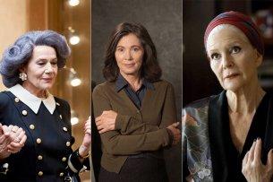 Immer noch dick im TV-Geschäft: Hannelore Elsner, Iris Berben und Christiane Hörbiger.
