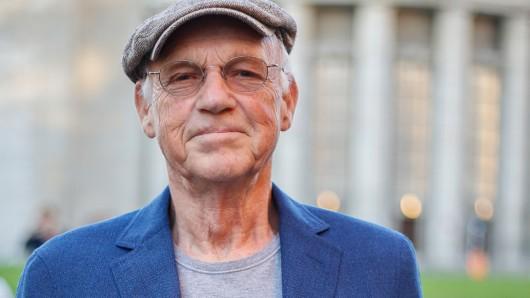 Der Schauspieler Dietrich Hollunderbäumer 2018 in seinem Wohnort Berlin.