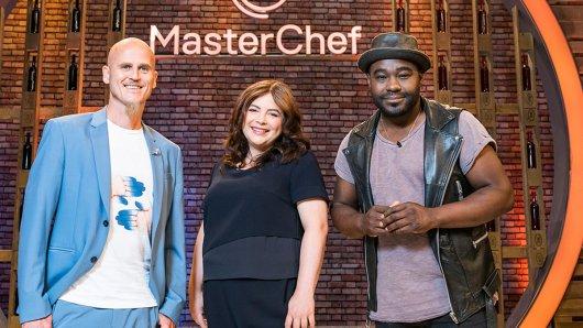Ralf Zacherl, Maria Groß und Nelson Müller bilden die Jury der dritten Staffel MasterChef bei Sky.