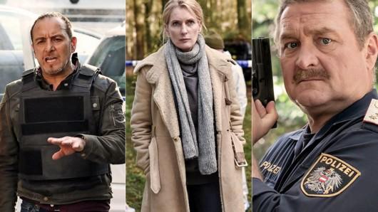 Drei TV-Kommissare, die schon ewig im Dienst sind: Semir Gerkhan (Erdoğan Atalay), Charlotte Lindholm (Maria Furtwängler), Alois Kroisleitner (Ferry Öllinger).