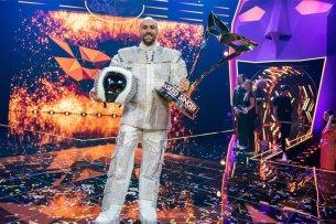 """Sieger der ersten Staffel """"the Masked Singer"""":  Max Mutzke"""