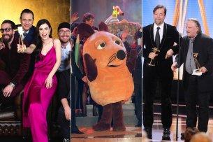 """Drei von 23 TV-Formaten, die eine GOLDENE KAMERA gewonnen haben und noch immer zu sehen sind: """"Sing meinen Song"""", """"Die Sendung mit der Maus"""" und der """"Tatort"""" aus Münster mit Jan Josef Liefers und Axel Prahl."""