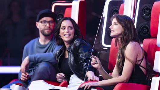 Yvonne Catterfeld und Stefanie Kloß treten als Duo in der Jury an.
