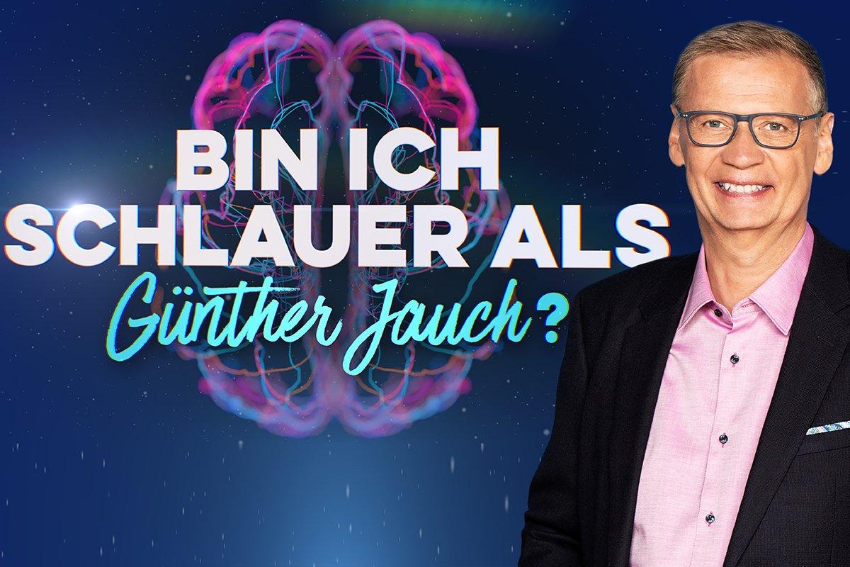 Wie schlau ist Günther Jauch wirklich? Seine neue Show gibt die Antwort.