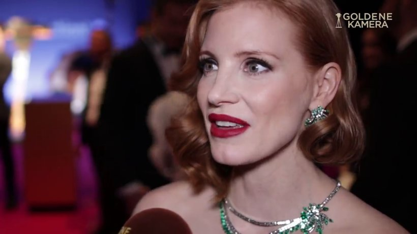goldene kamera 2019  jessica chastain im interview